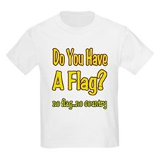 no flag no country! T-Shirt