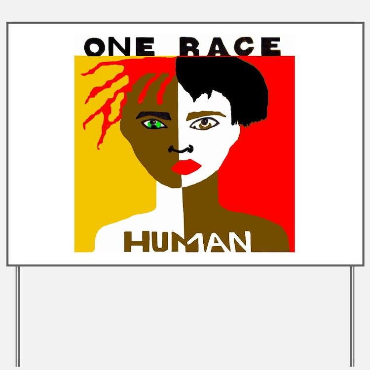 Anti-Racism Yard Sign