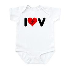 I Heart V Infant Bodysuit