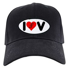 I Heart V Baseball Hat
