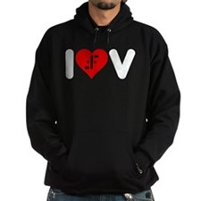 I Heart V Hoodie