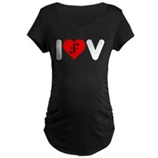 I Heart V T-Shirt