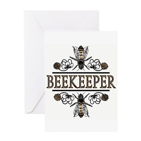 The Beekeepers! Greeting Card