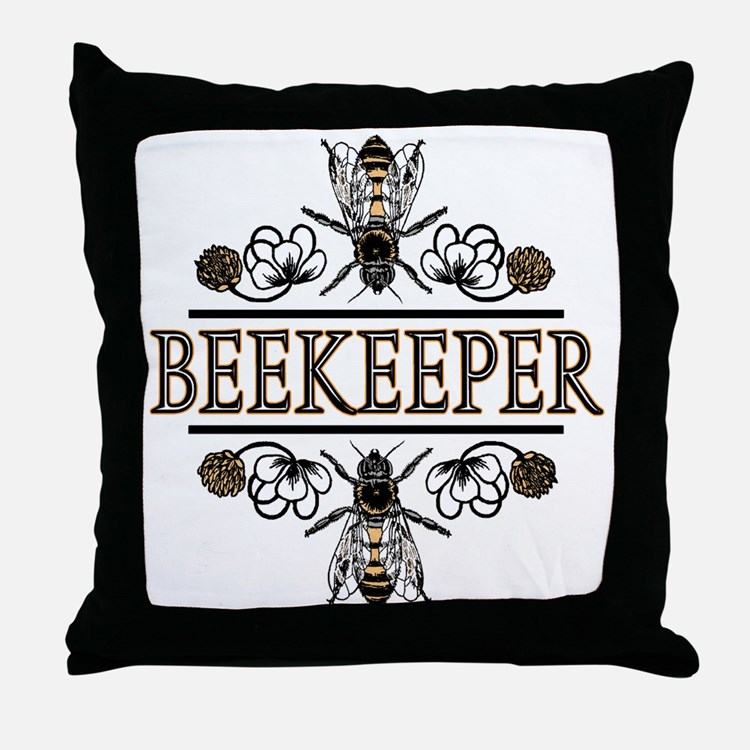The Beekeepers! Throw Pillow