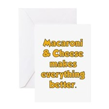 Mac N Cheese Greeting Card