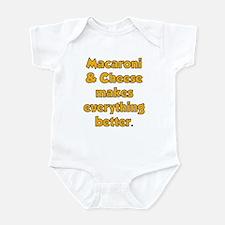 Mac N Cheese Infant Bodysuit