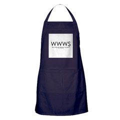 Who Would Watson Scare? Apron (dark)