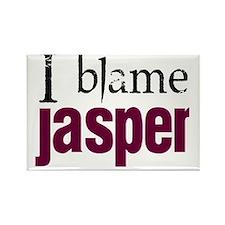 I blame Jasper Rectangle Magnet