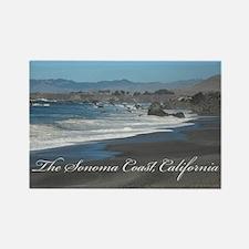 Sonoma Coast Rectangle Magnet (100 pack)