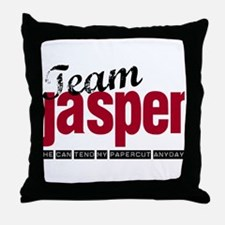 Team Jasper Throw Pillow