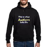 This Is What Autism's Looks L Hoodie (dark)