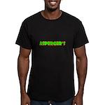 Asperger's Men's Fitted T-Shirt (dark)