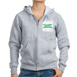 I'm Not ADHD, I'm A Caffine A Women's Zip Hoodie