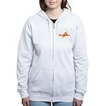 Pyromaniac Women's Zip Hoodie