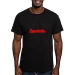 Psychotic Men's Fitted T-Shirt (dark)