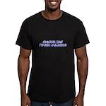 Chicks Dig Psych Majors Men's Fitted T-Shirt (dark