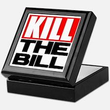 Cute Kill liberals Keepsake Box