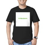 My Wife's A Therapist Men's Fitted T-Shirt (dark)