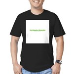My Sister's A Therapist Men's Fitted T-Shirt (dark