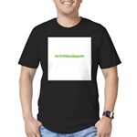 My Daddy's A Therapist Men's Fitted T-Shirt (dark)