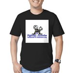 Mascot Undefeated Men's Fitted T-Shirt (dark)