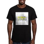 He Was Framed Men's Fitted T-Shirt (dark)
