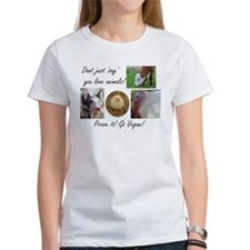 Don't just 'say' you love animals! Tee