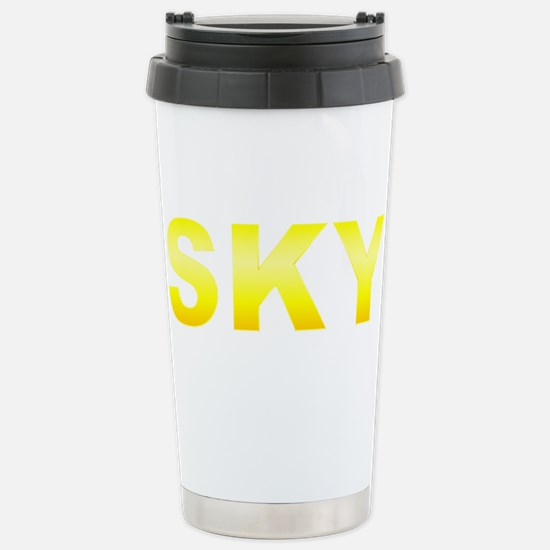 SKY Stainless Steel Travel Mug