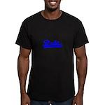 Softball REBT Men's Fitted T-Shirt (dark)