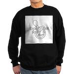 Dont Be An F B Sweatshirt (dark)