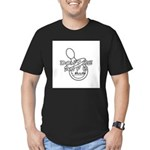 Dont Be An F B Men's Fitted T-Shirt (dark)