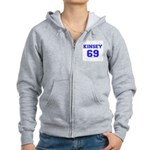 Kinsey Jersey Women's Zip Hoodie