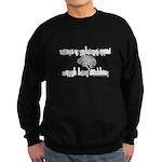 Nothin Grey About This Matter Sweatshirt (dark)