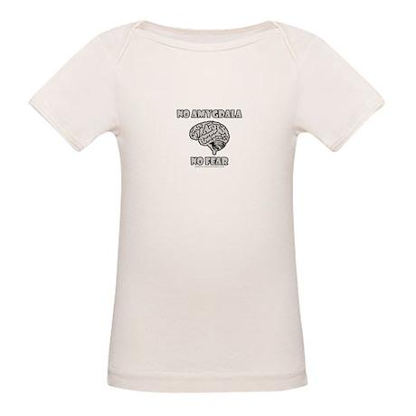 No Amygdala No Fear Organic Baby T-Shirt