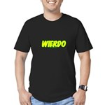 Wierdo Men's Fitted T-Shirt (dark)