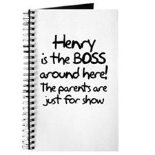 Henry is the Boss Journal