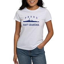 Proud Navy Grandma Tee
