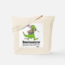 Beachasaurus Tote Bag