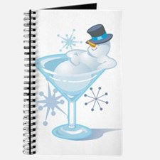 Snowman Martini Journal