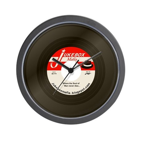 Jukeboxmafia Logo Wall Clock