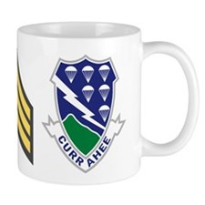 1-506th Infantry Sergeant 11 Ounce Mug