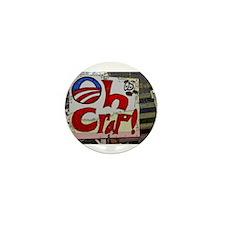 Unique Oh no obama Mini Button