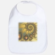 Golden Fiddle Fractal Bib