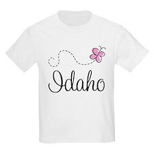 Pretty Idaho Butterfly T-Shirt