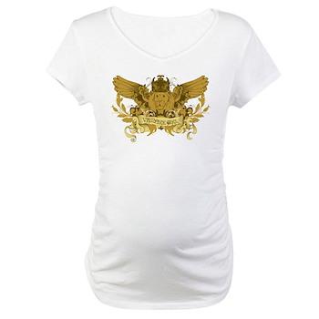 Vampire Girl Maternity T-Shirt