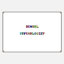 Funny School and educational Banner