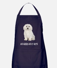 Good Bichon Frise Apron (dark)