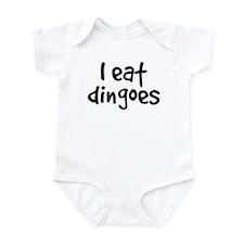 I Eat Dingoes Infant Bodysuit