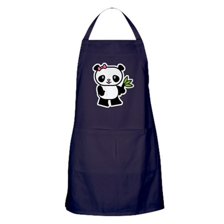Cute Panda Apron (dark)