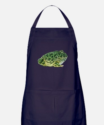 Pacman Frog Photo Apron (dark)
